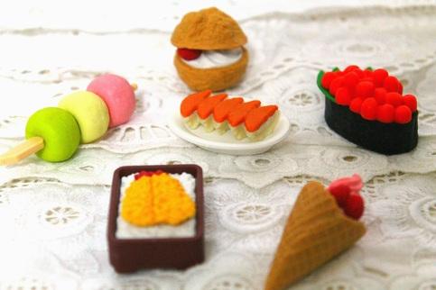 Japan Kawaii Food Erasers Surprise Set 183 Kawaii Surprises