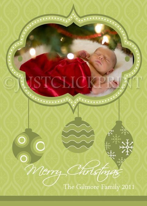 modern ornaments holiday christmas family holiday photo