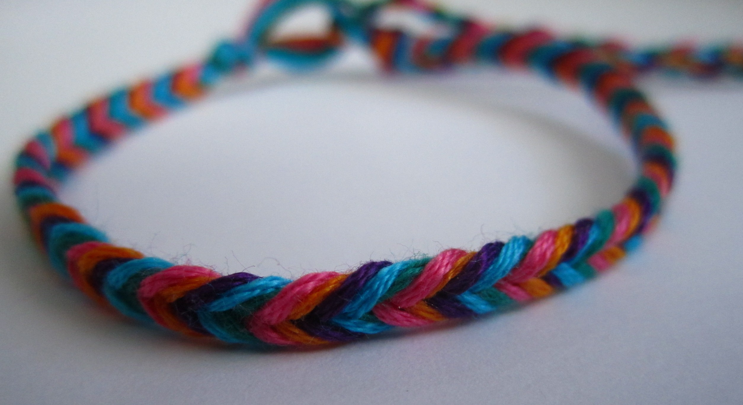 bracelet a easy bracelets knot friendship to cross string make anklet ways step