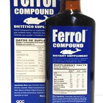 Ferrol Compound Multi-Vitamin & Iron Supplement Tonic 200ml (6.5 fl.oz) by GPC