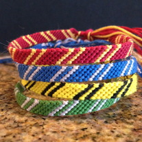Harry Potter House Scarf Bracelets