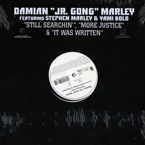 "Damien ""JR. Gong"" Marley - Still Searchin'/More Justice & It Was Written 12"" Vinyl"
