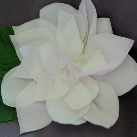 Silk Magnolia in Pearl White