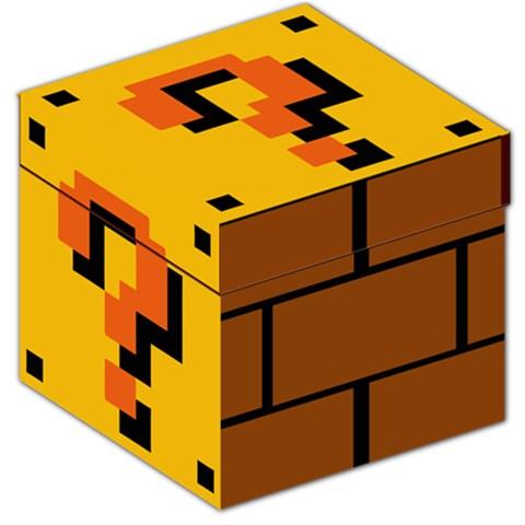 Mystery Question Mark Block Storage Stool Box · Much Needed Merch ...