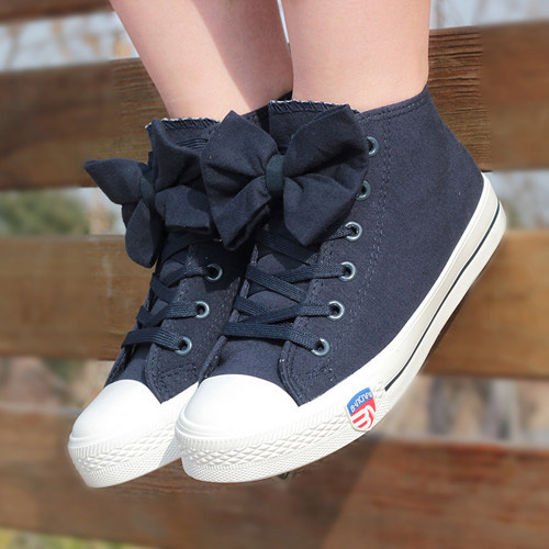 Bowknot Shoes Bowknot Canvas Shoes