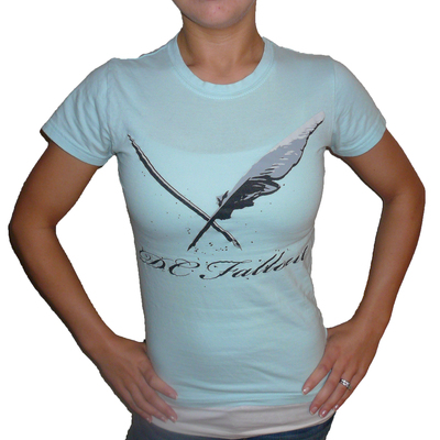 Woman's quill and pen tee