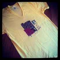 New! Library V-Neck T-Shirt