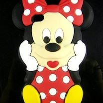 3D Minnie Mouse Case (iPhone 4 4s)