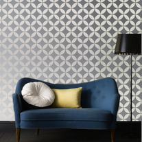 Geometric traditional Moroccan patterns with a Modern twist Designer Pattern Stencil for Walls Decor