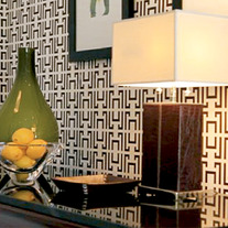 DIY Vera Geometric Glam Wall Allover Designer Pattern Wall Stencil