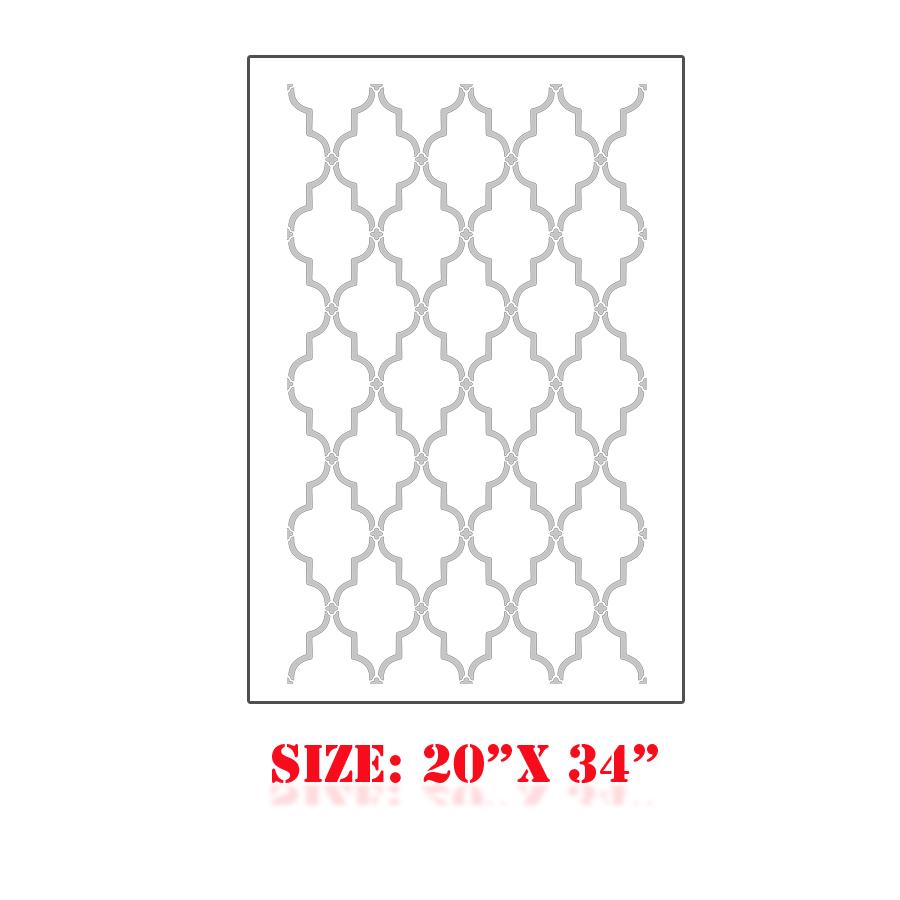 Free moroccan stencil designs joy studio design gallery for Moroccan shapes templates