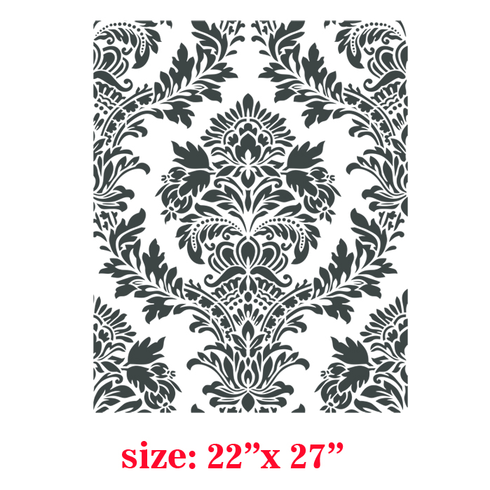 Audrey Victorian Classic Damask Allover Designer Pattern