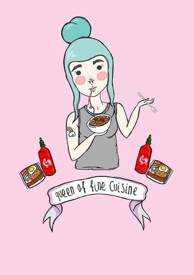 Queen of Fine Cuisine.
