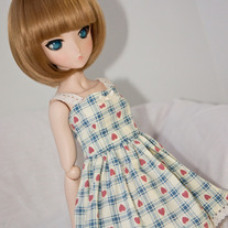 Gingham Hearts Sun Dress