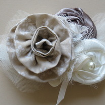 Creamy Neutrals headband