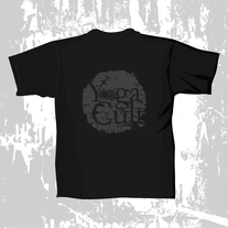 "T-Shirt: ""Yo)))ga Cult"" medium photo"