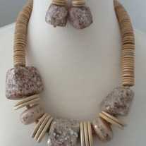 All Natural Necklace Set