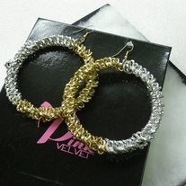 Bigger Is Better (Gold/Silver) Hoop Earrings