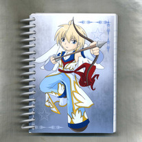 Notebook S - Elemental Chibi Bishonen: Light