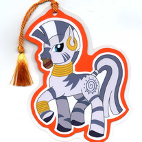 Bookmark - My Little Pony FiM: Zecora (Fanart)