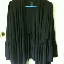 Lane Bryant Black Cardigan Sz 22/24
