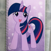 Notebook M - My Little Pony FiM: Twilight Sparkle (Fanart)