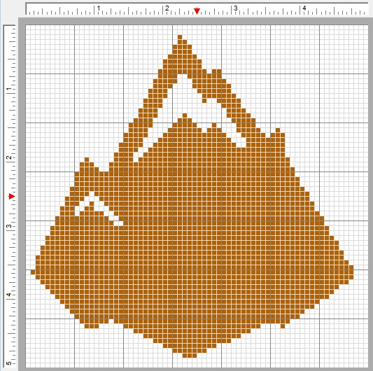 Blip103 Patterns Skylanders Earth Element Symbol Cross Stitch