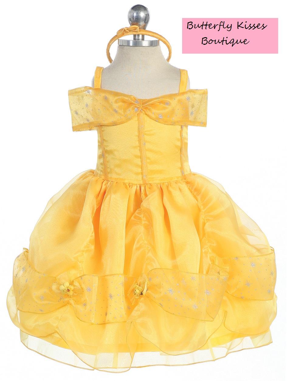 Belle Princess Infant Costume  sc 1 st  Butterfly Kisses - Storenvy & Belle Princess Infant Costume · Butterfly Kisses · Online Store ...