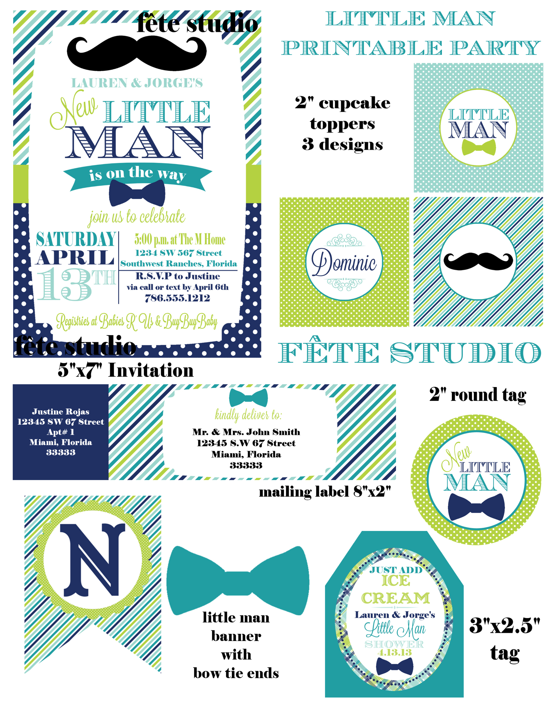 little man baby shower free printables car tuning