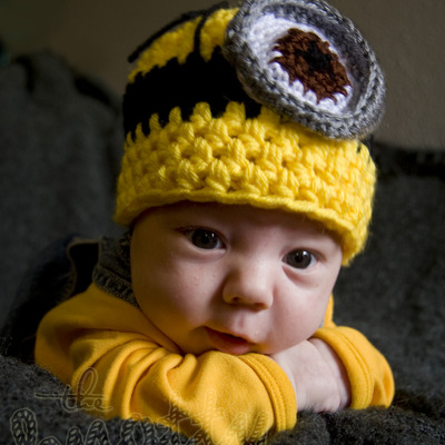 Despicable little minion hat