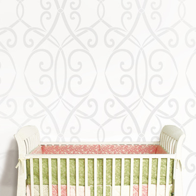 Wall stencil morrocan lattice trellis pattern wall room decor made by omg stencils home improvements color paintings 0209