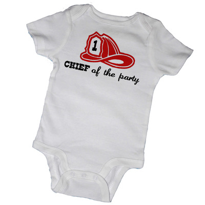 Birthday - chief of the party baby bodysuits & tot tees