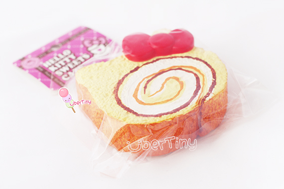 Hello Kitty Squishy Cake Rolls : Rare* Jumbo Hello Kitty Cream Roll Cake Squishy (licensed) ? Uber Tiny ? Online Store Powered by ...