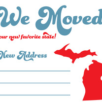 We Moved Postcards - New State