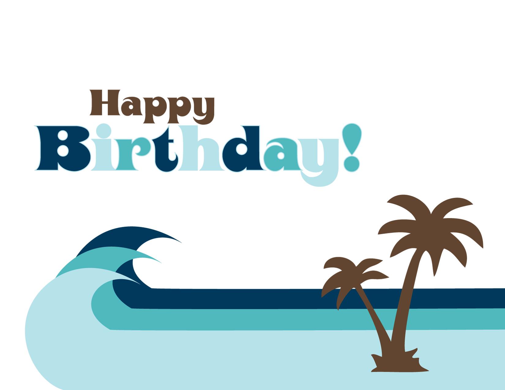 Birthday Card Sayings Beach : Beach birthday card ? paper store powered by