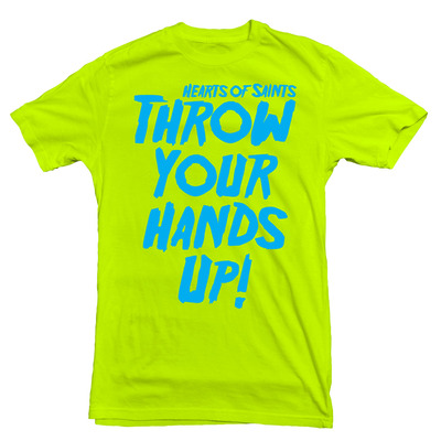 Throw t lime green