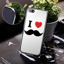 New Chic I Love Beard Apple iPhone 5 Case Cover