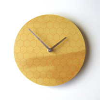 Objectify Honeycomb Wall Clock