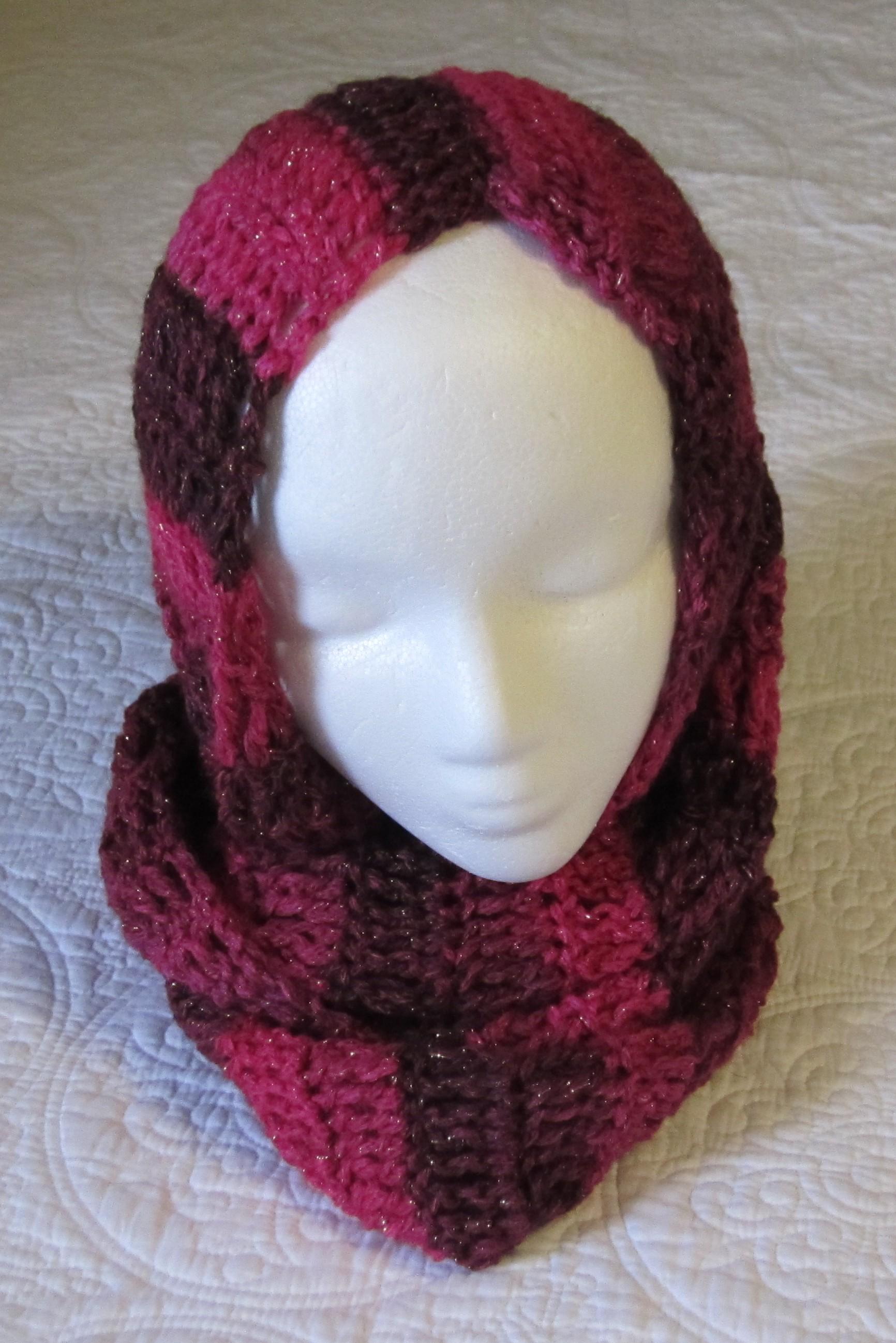 Crochet Infinity Scarf Pattern Red Heart ~ Pakbit for .