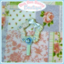 Blue Rhinestone Star Lollipop