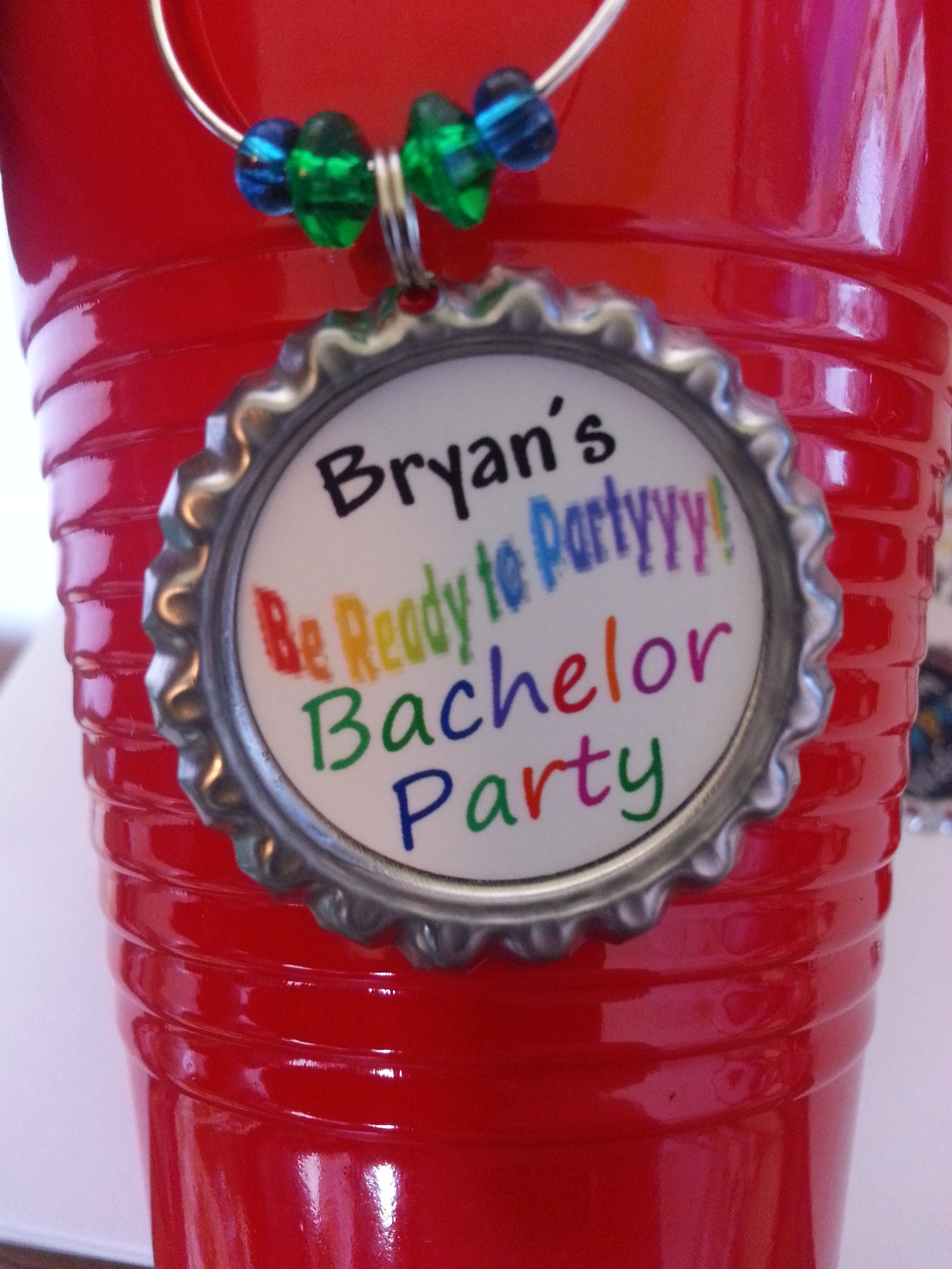 Party Supplies 2   12 Personalized Bachelor Party Favors, wine and ...