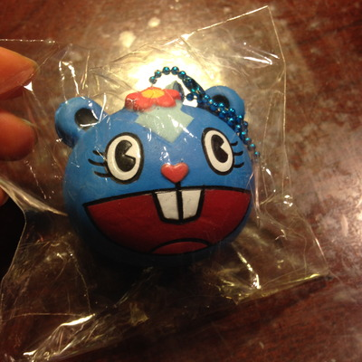 Blue happy tree friends squishy