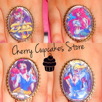 Disney Princess Zombie RINGS
