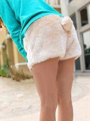 Pantalones Conejito / Bunny Rabbit Shorts 2WH146