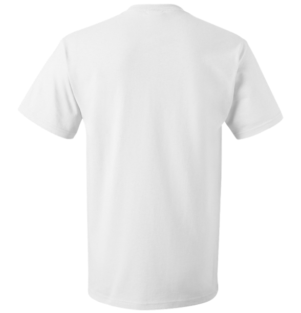 SMBInfluencer White T-Shirt (Blank Back) - Thumbnail 1