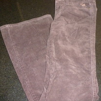 Brown Corduroy Pants-Abercrombie Size 12