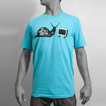 Men's T.V. Snail - Blue