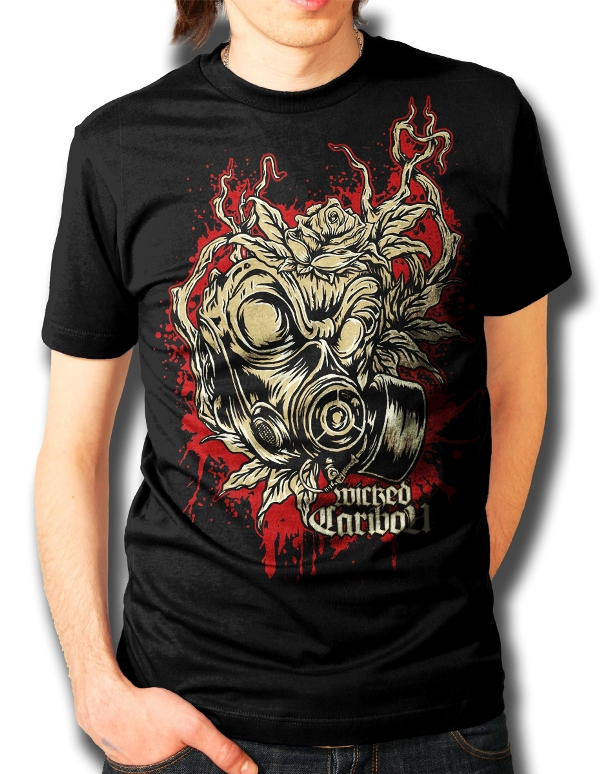 Gas Mask Shirt Gas Mask T-shirt