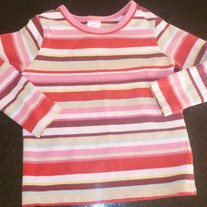 Multi Striped Shirt-Old Navy-4T