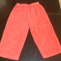 Red Velour Pants-Nike-Size 24 Months